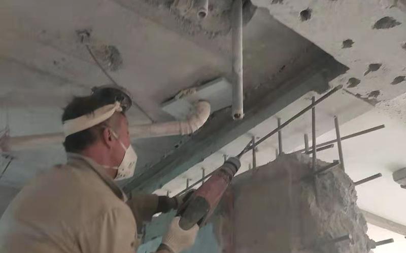 剪力墙恢复及加固施工